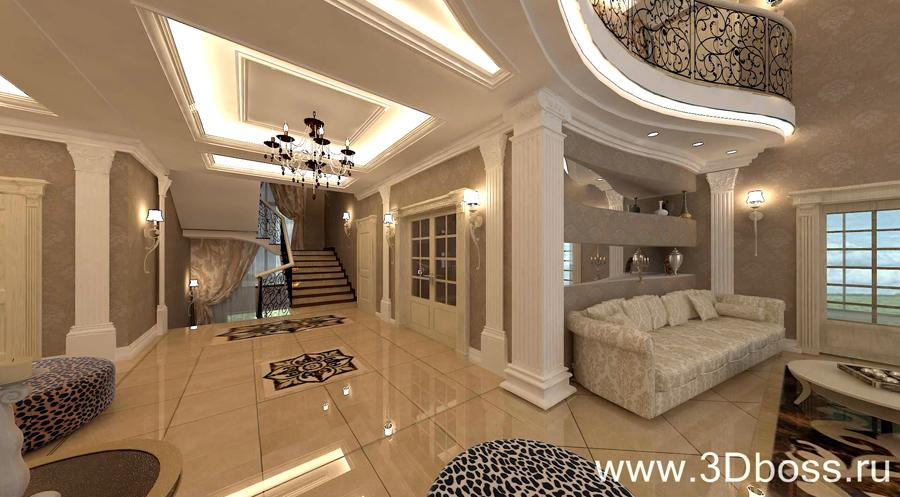 ДИЗАЙН ИНТЕРЬЕРА ДВУСВЕТНОЙ ГОСТИНОЙ ...: 3dboss.ru/Design_interera_dvusvetnaya_gostinaya.html