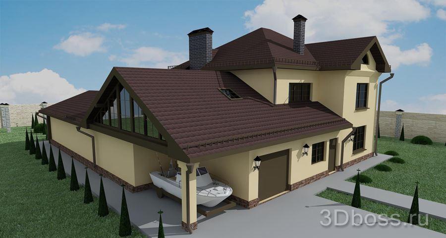 крыши частных домов. фото