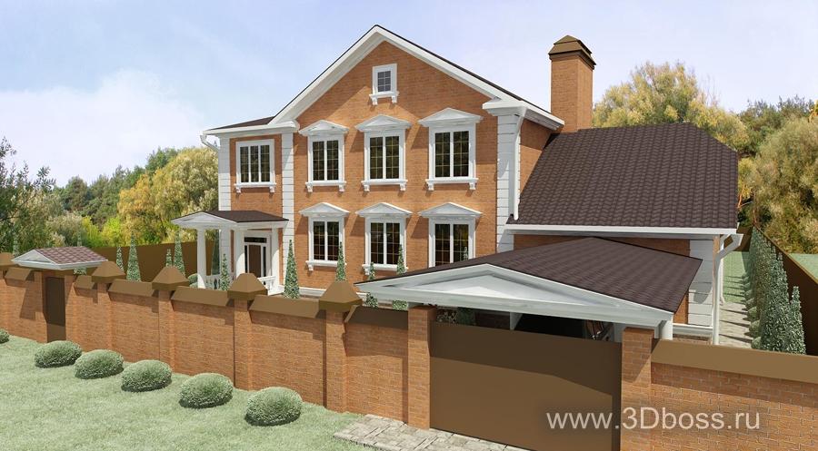 Дизайн заднего двора частного дома фото
