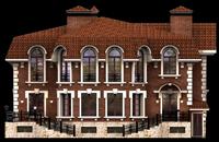Дизайн фасада коттеджа