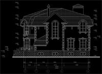 дизайн проект фасадов малоэтажного дома