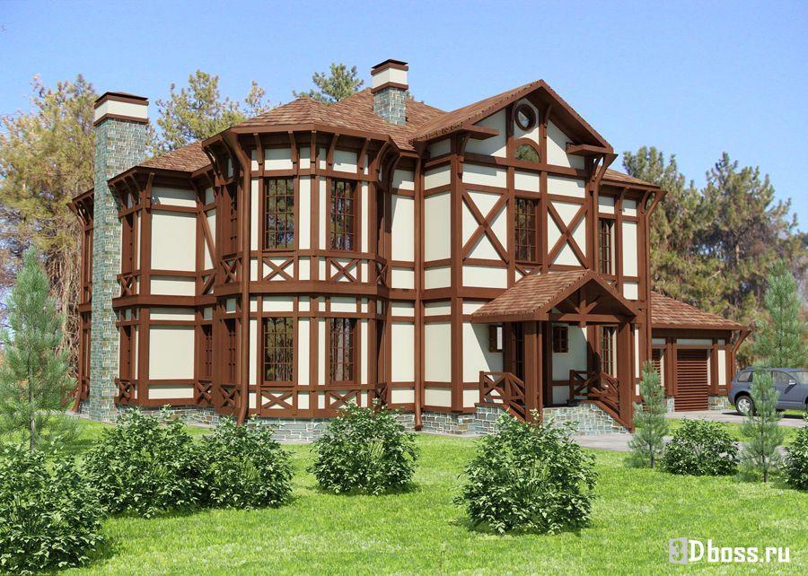Интерьеры фасадов домов