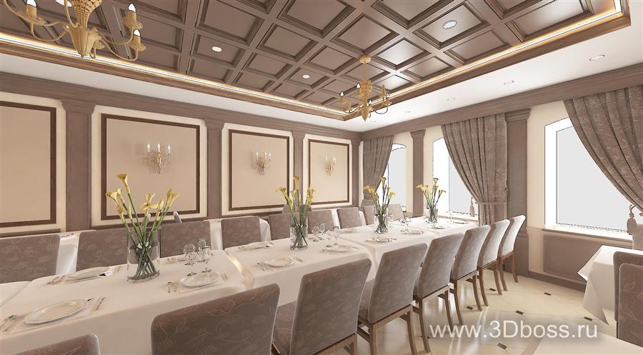 Декор и оформление ресторанов и кафе в Москве